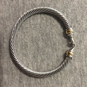 David Yurman buckle bracelet